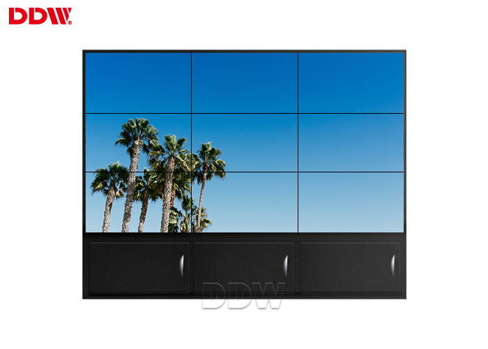 Wall Mounted Interactive Video Wall For Conforence Room Anti Glare Surface